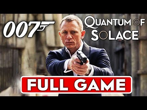 JAMES BOND 007 QUANTUM OF SOLACE Gameplay Walkthrough Part 1 FULL GAME  [1080p HD] - No Commentary