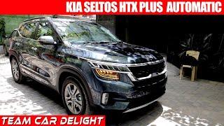 Kia Seltos Htx Plus Diesel At Walkaround Review On Road Price Seltos Htx Plus Youtube