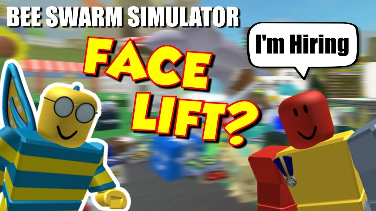 IS BEE SWARM SIMULTAOR GETTING A FACE LIFT? - BEE SWARM LEAKS