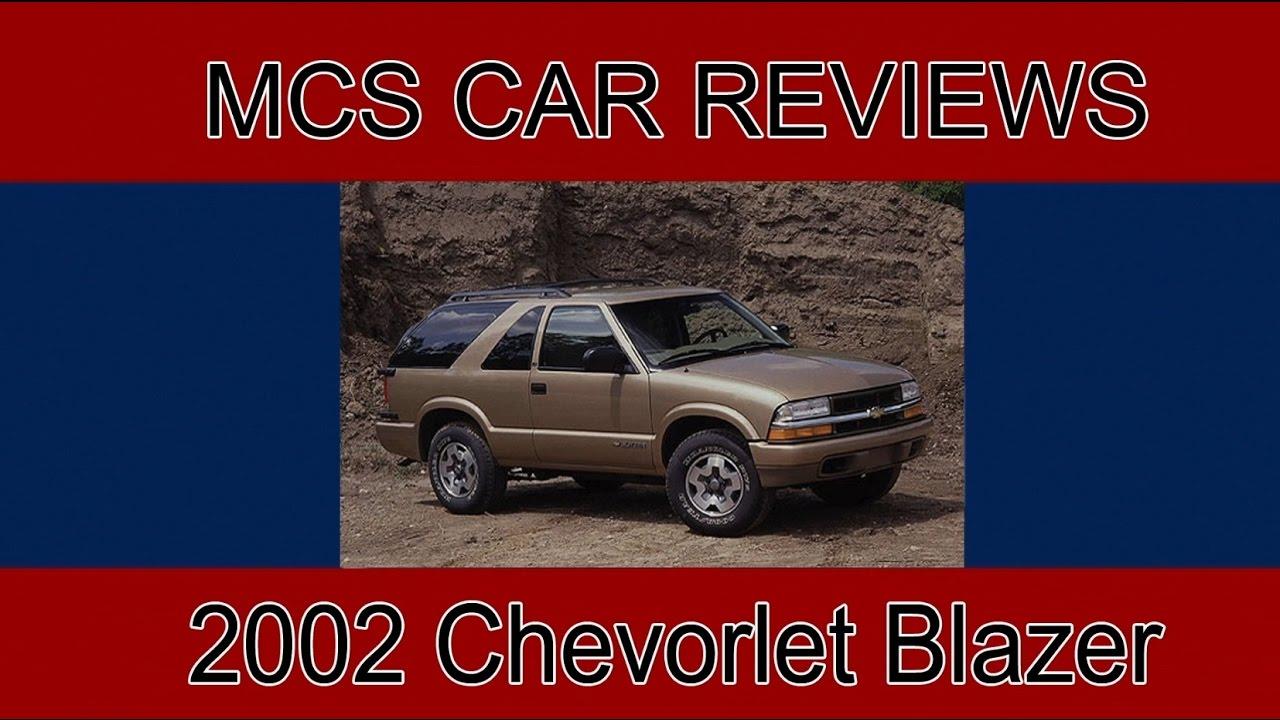 Chevrolet Blazer Car Review - YouTube