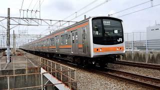 京葉線 205系・E233系・E257系500番台、京急大師線(2014.10.4)