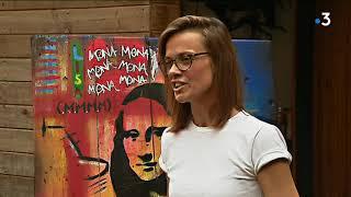 Saulieu : l'artiste Niki est la nouvelle étoile du Street Art