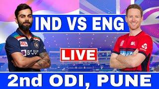 Live: Ind Vs Eng 2nd Odi | India vs England 2nd odi Live Scores & Commentary