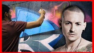 Скачать GRAFFITI For CHESTER Linkin Park