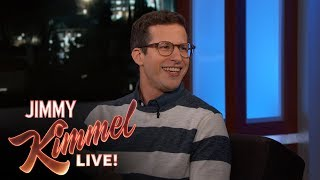 Andy Samberg on NBA Finals, Oscars & Not Playing Football