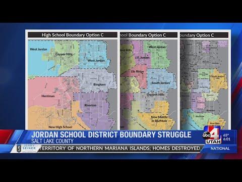 Latest in the Jordan School District boundary shake-up