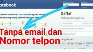 Trik Log in Facebook tanpa email maupun Nomer HP