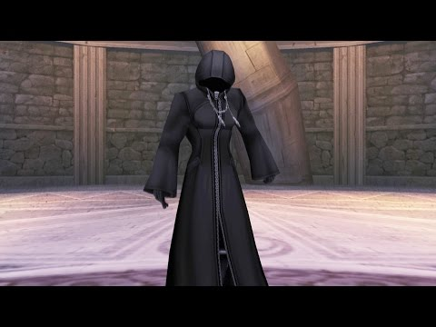 Kingdom Hearts: Xemnas, Enigmatic Man Boss Fight (PS3 1080p)
