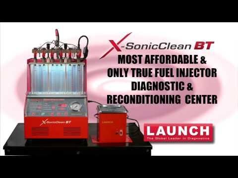 Launch X-Sonic Clean Overview