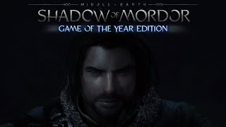 Middle Earth : Shadow Of Mordor Game Of The Year Edition PS4 -- Gameplay-Review