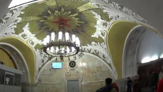 Французы фоткают красивейшее в мире метро (Москва 2017).