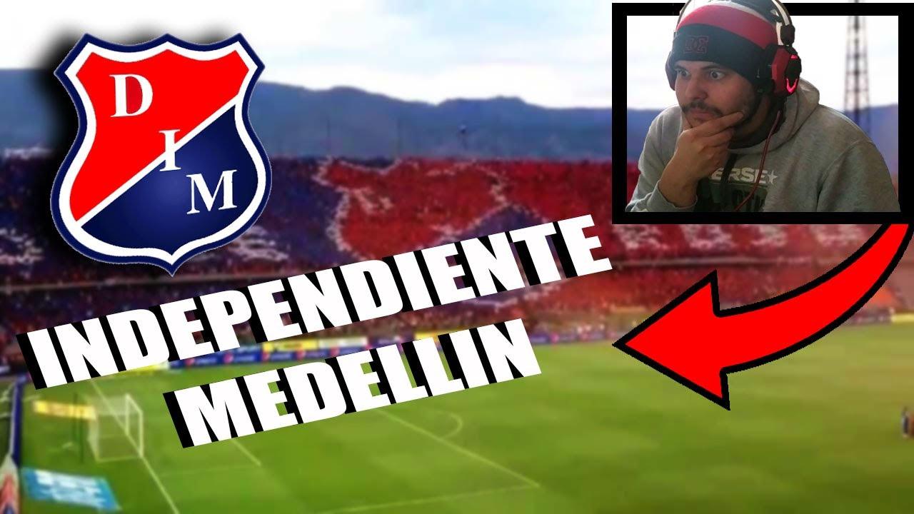 ARGENTINO Reaccina a la HINCHADA de INDEPENDIENTE MEDELLIN de COLOMBIA | *Increible*