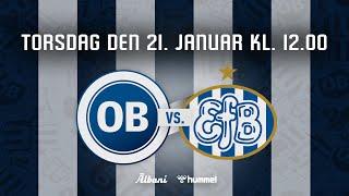 Træningskamp: OB - Esbjerg fB
