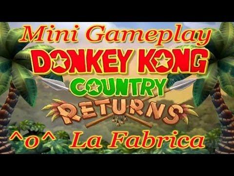 Donkey Kong Country Returns Wii - Recordando como se juega! :D