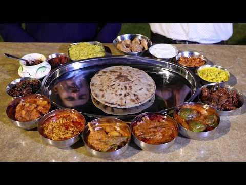 King Size Dinner in Ahmedabad, India | Indian Food Ranger Nikunj Vasoya