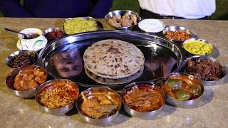 King Size Dinner in Ahmedabad, India | Indian Food Ranger Nikunj Vasoya