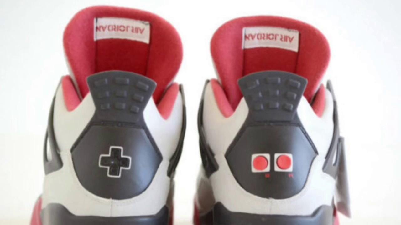 This Custom Air Jordan 4 Is Inspired By The Original Nintendo Gaming System