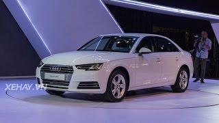 [XEHAY.VN] Cận cảnh Audi A4 mới ra mắt giá 1,65 tỷ tại VN