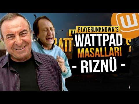 WATTPAD ve PUBG // RIZNÜ // Playerunknown's Battlegrounds