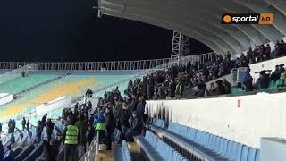 Най - верните фенове на Левски подкрепят отбора срещу Септември