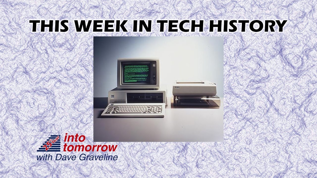 This Week in Tech History: Launch of the Personal Computer   Into Tomorrow