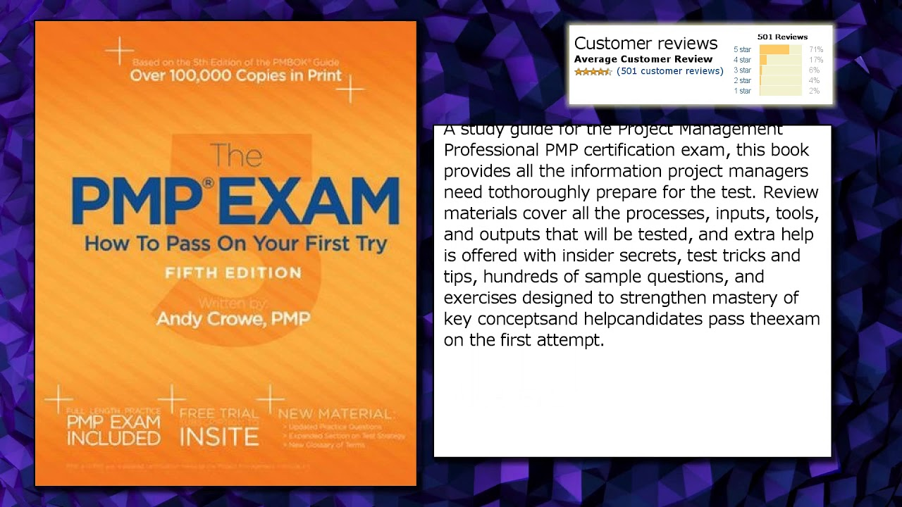 The pmp exam how to pass on your first try fifth edition youtube the pmp exam how to pass on your first try fifth edition 1betcityfo Images