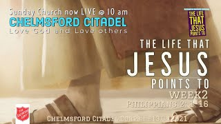 Sunday Online Worship from The Salvation Army Chelmsford Citadel 13.06.2021@ 10am pre-worship 9.45am