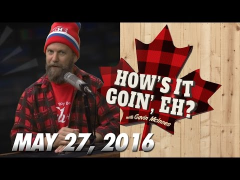 "PREMIERE! ""How's It Goin', Eh?"" with Gavin McInnes!"