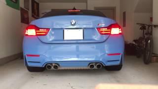 2016 BMW M4 Cold Start