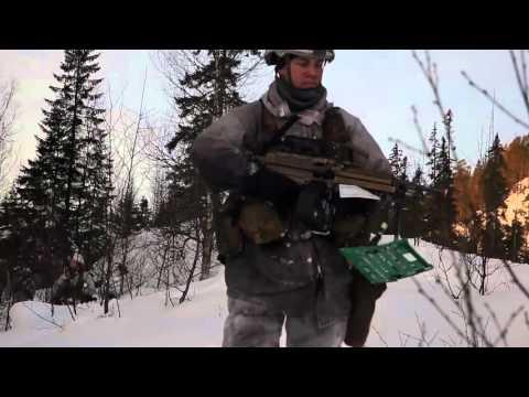 Norwegian Troops Traverse Terrain During Cold Response 16