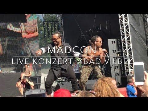 Madcon - Live Konzert @Bad Vilbel 2017