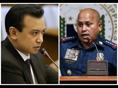 Trillanes grills Dela Rosa on PNP's war on drugs