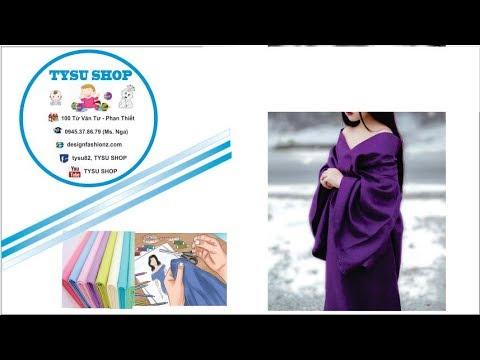 416-thiết Kế Áo Choàng Kimono |dạy Cắt May Online Miễn Phí | Sewing Online Class Free | Tysu Shop
