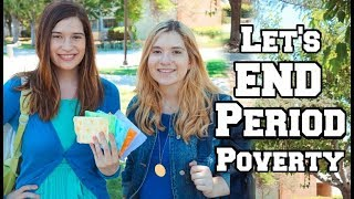 My School Period Story! | Let's End Period Poverty!