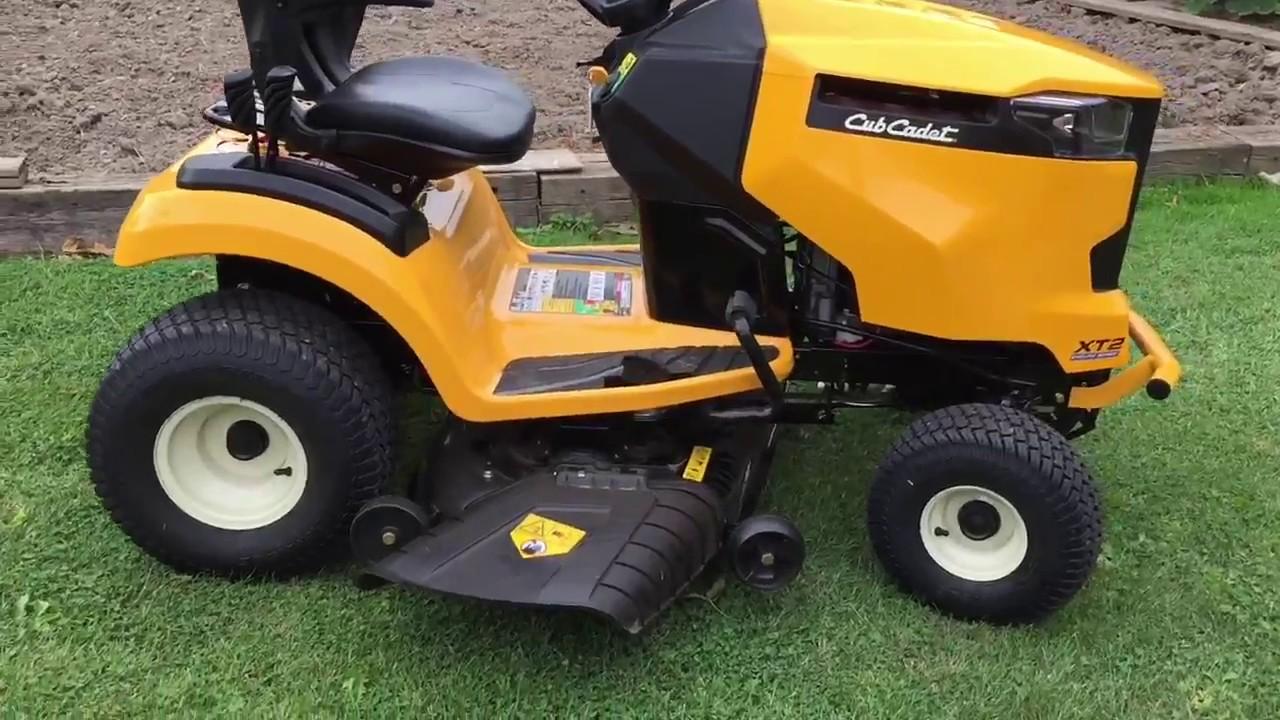 Cub Cadet Xt2 Lawn Tractor In Depth Review