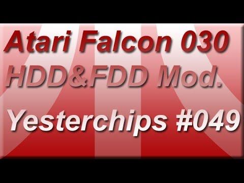 MIGs Yesterchips - Folge #049 Atari Falcon 030 (HDD & FDD Modifikation)