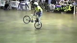 Dave Mirra flatland run AFA Masters Columbus, OH 1988 14 expert