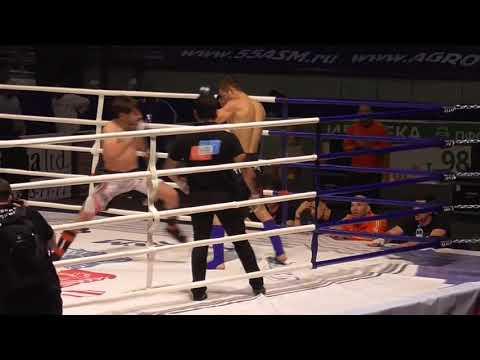 Чемпионат России по ММА  Гаджиев Халид vs Ганненко Алексей