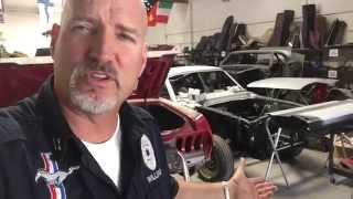 Paint Prep and a little extra metalwork Sandra's 1965 Mustang 2+2 Fastback - Day 84