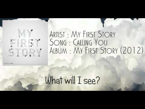 My First Story - 'Calling You' lyric video (by [R]ebel Design Studio)