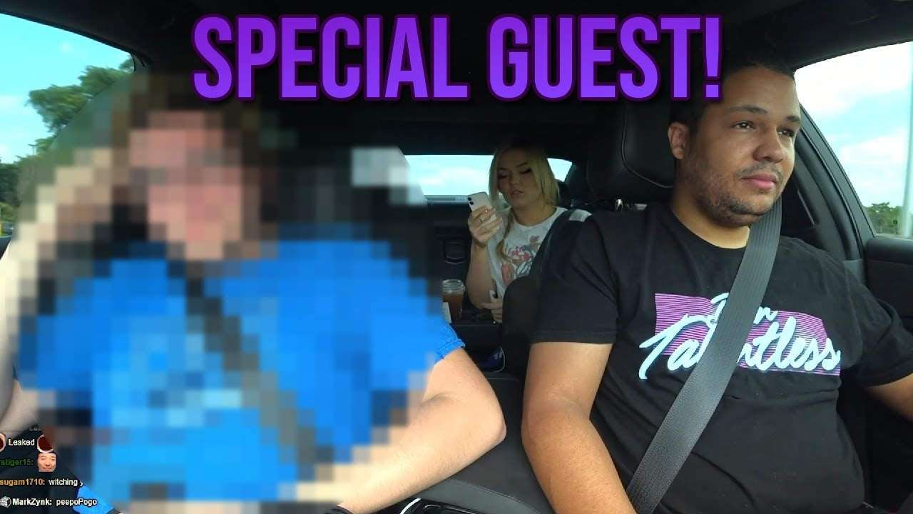 Who could it be! (streamers in cars)
