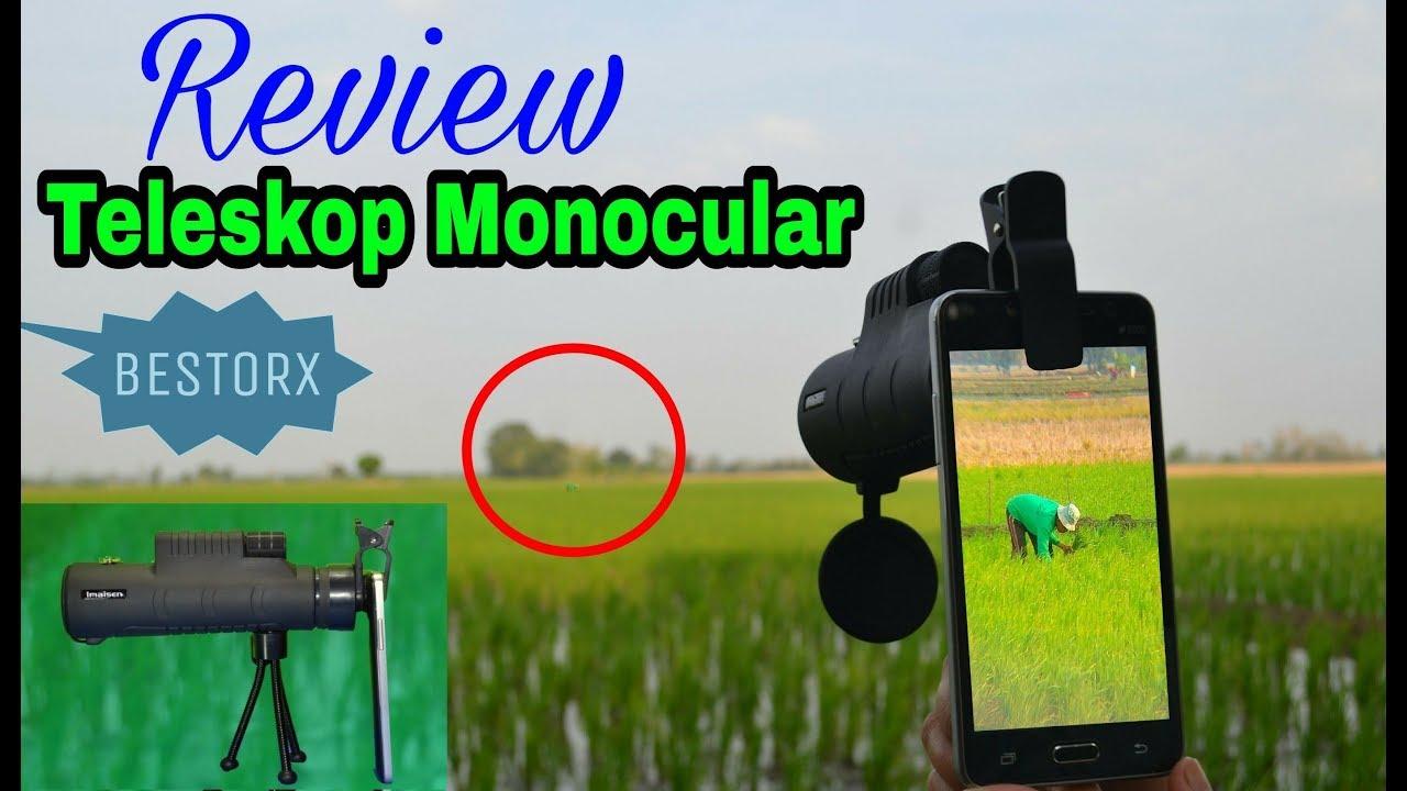 Review teleskop monocular dari bestorx cocok buat memotret