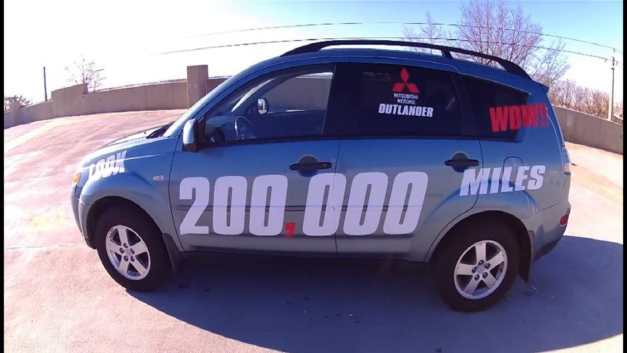 High Mileage 2007 Mitsubishi Outlander review, what to expect