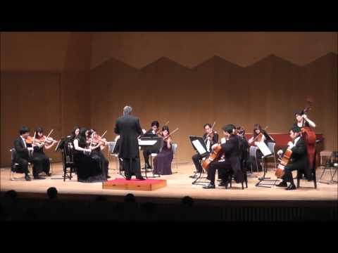 無伴奏ヴァイオリンパルティータ第1番ロ短調BWV1002#2 (弦楽合奏版)
