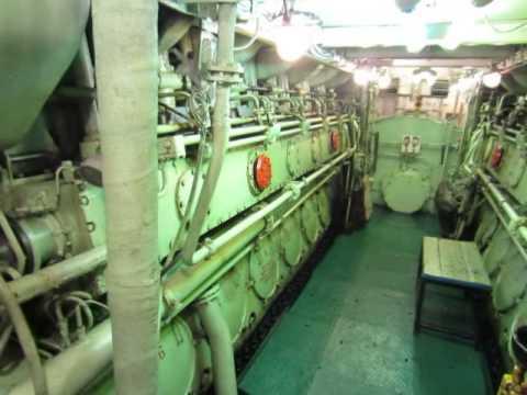 видео: Камчатка Океанрыбфлот  батм машинное отд.