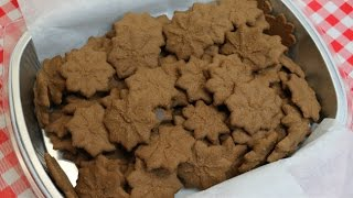 Chocolate Cream Cheese Press Cookies ~ Christmas Cookie Recipe ~ Noreen's Kitchen