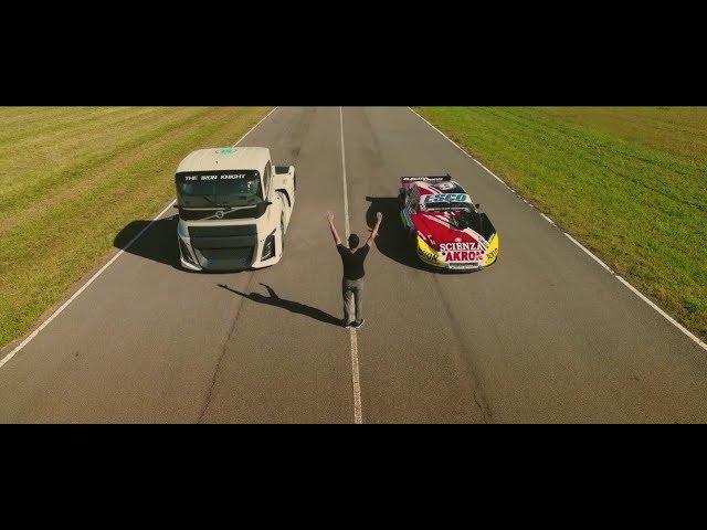El Volvo Iron Knight y Guillermo Ortelli se pusieron a prueba