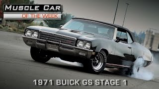Muscle Car Of The Week Video Episode #184: 1971 Buick GS 455 Stage 1 Automatic Convertible