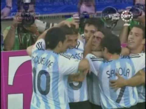 Argentina Goals 2006 FIFA World Cup