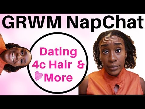 GRWM Chit Chat 2017: Fake 4c Natural Hair Channels, Online Dating, Being Single, 2018 Goals & More